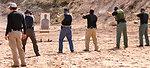 Target Practice with .40 Caliber Handguns