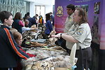 Wildlife Inspectors explaining exhibits