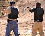 Agents Firing .40 Caliber Handguns