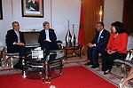 Moroccan Foreign Minister Mezouar Welcomes Secretary Kerry With Tea Ceremony