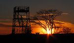 Hellcat at sunset