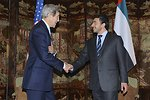 Secretary Kerry Meets With United Arab Emirates Foreign Minister bin Zayad al Nayan