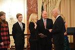 Vice President Swears in Ambassador Russell