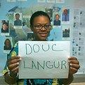 Nikole Tucker, 'Douc Langur,' Credit: USFWS