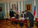 Russia Signing