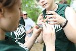 Kids Holding Turtle