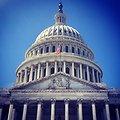 Capitol Dome, Statue of Freedom and Genius of America Pediment