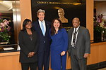 Ambassador Jenkins, Secretary Kerry, Congresswoman Duckworth, and Director Robinson Pose for a Photo