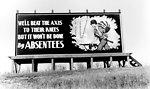 Billboard Throughout Oak Ridge 1943