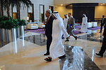 Secretary Kerry Walks With UAE Minister of Foreign Affairs al Nayhan