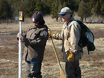 Salt Marsh field work