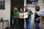 Special Award from Dan Ashe for Judy Romero