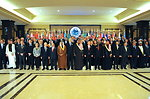 Secretary Kerry Joins Attendees For Syrian Donors' Conference Group Photo