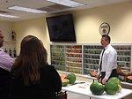 Produce Safety University - watermelon demonstration