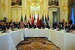 Arab Peace Initiative Members Meet With Secretary Kerry in France