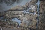 Trail damage at Target Rock National Wildlife Refuge (NY)