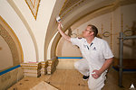 AOC Decorative Painters restore historic room in Capitol