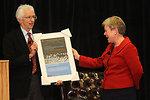 Assistant Secretary Gottemoller Is Presented an Award