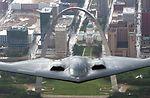 B-2 Spirit flies over St. Louis