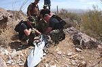 Hiker finds F-16 rack