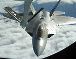 McConnell refuels first F-22A operational mission