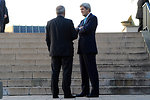 Secretary Kerry Meets With Jordanian Foreign Minister Judeh at Geneva II Conference