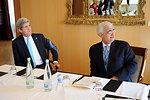 Secretary Kerry, Indian Foreign Minister Khurshid Enjoy Alpine View