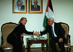 Secretary Clinton With Palestinian Authority President