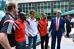 Secretary Kerry Chats With DC United Players