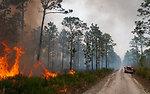 Lake Woodruff Volusia 5 Prescribed Fire Febuary 2014