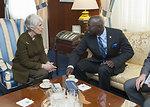Under Secretary Sherman Meets With UN Special Adviser Dieng