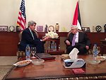 Secretary Kerry and Palestinian President Abbas Meet in Amman