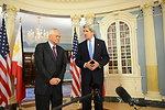 Secretary Kerry Meets With Philippine Foreign Secretary Del Rosario