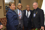 Administrator Jackson comes together with the Rev. Al Sharpton, Honorable Congressman John Lewis, and US House Chaplain Pat Conray