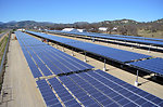 Solar project at Fort Hunter Liggett - March 2013