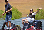 "New buddies (""Take a Warrior Fishing"" event at Success Lake)"