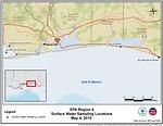 EPA Water Sampling Locations May 4, 2010