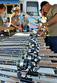 """Reels and rods ready to rock (""""Take a Warrior Fishing"""" event at Success Lake)"""