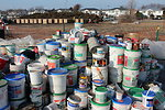December 3, 2012 – Household Hazardous Waste separated for proper disposal