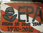 Divers need to eat! EPA Region 10 Dive 40 year anniversary 1970-2010