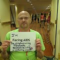 I'm Facing AIDS by emphasizing PERSONAL RESPONSIBILITY in protecting oneself.