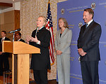 Secretary Clinton Speaks With Embassy Athens Staff and Families