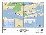 EPA Air Monitoring Locations May 9, 2010
