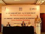 U.S. Ambassador David Shear Speaks at Green Building and Energy Workshop