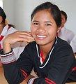 Student Y Nga at Kon Ray School