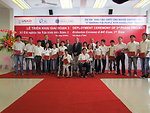 Graduates receive certificates in IT at USAID-funded training program at Van Lang University, HCMC
