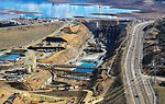 Auxiliary Spillway progress surges forward