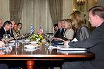 Secretary Clinton Meets With Greek Foreign Minister Lambrinidis