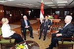 Egyptian President Mubarak Welcomes Secretary Clinton, Palestinian President Abbas, and Israeli Prime Minister Netanyahu