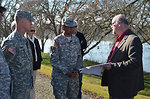 Corps commanding general visits Sacramento levees